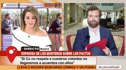 Tensión entre Carme Chaparro y Espinosa de los Monteros: