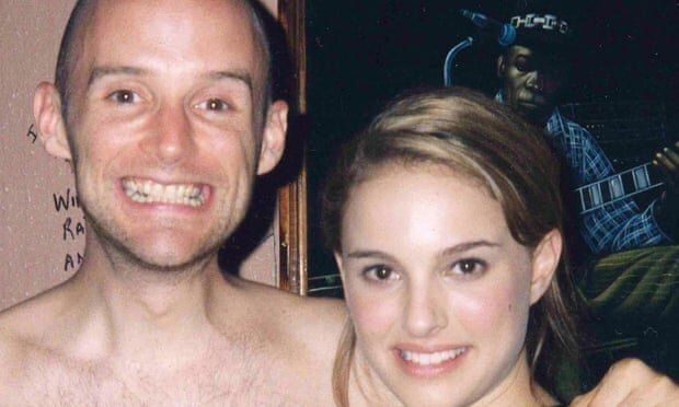 Moby posted this photo of himself and Natalie Portman to Instagram as