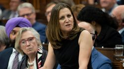Stop Spreading 'Inaccurate' Information, Freeland Tells