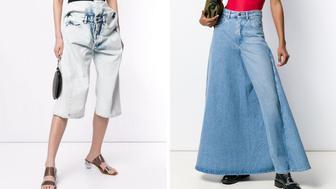 weird jeans