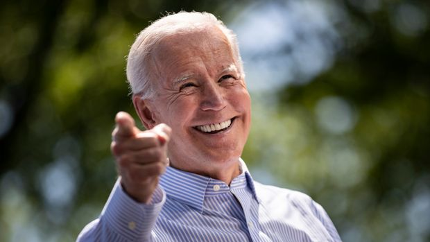 PHILADELPHIA, PA - MAY 18: Former U.S. Vice President and Democratic presidential candidate Joe Biden speaks during a campaign kickoff rally, May 18, 2019 in Philadelphia, Pennsylvania. Since Biden announced his candidacy in late April, he has taken the top spot in all polls of the sprawling Democratic primary field. Biden's rally on Saturday was his first large-scale campaign rally after doing smaller events in Iowa and New Hampshire in the past few weeks. (Photo by Drew Angerer/Getty Images)