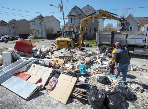Québec a déjà versé plus de 24 M $ en indemnités aux sinistrés des
