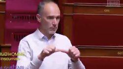 Ce député insoumis s'exprime en langue des signes pour alerter sur le sort des sourds et