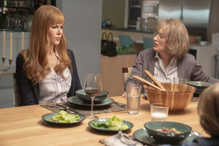 "Nicole Kidman and Meryl Streep in ""Big Little Lies"" on HBO."