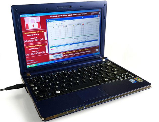 컴퓨터 바이러스에 감염된 삼성 노트북이 16억원에