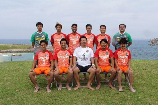 レーヴェ横浜の選手ら