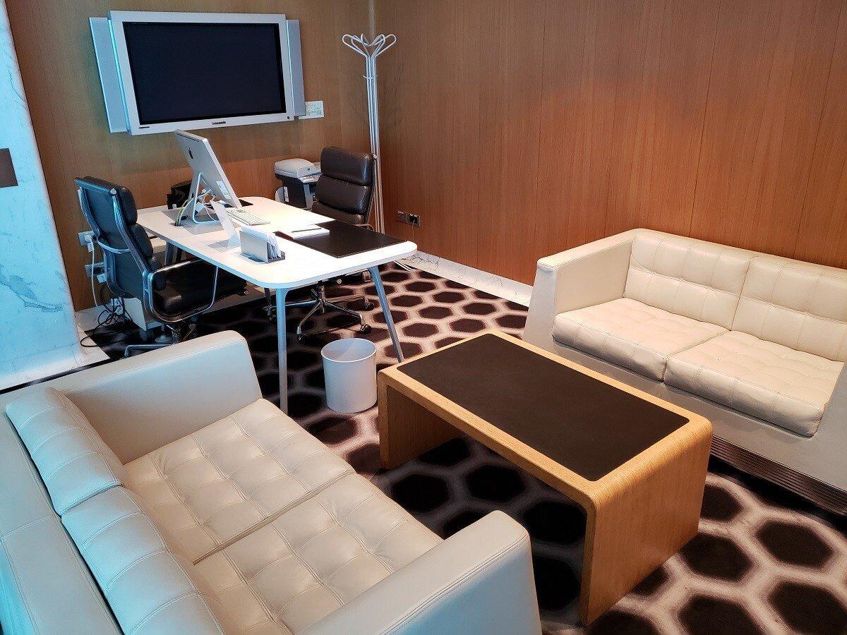 有一間會議室可以使用