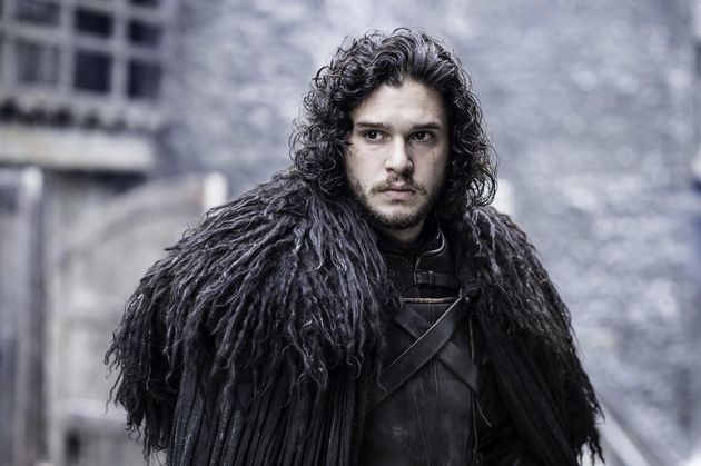 Kit as Jon Snow in Game Of