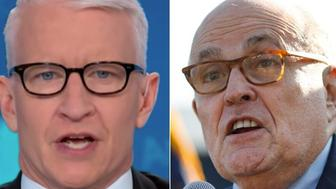 Anderson Cooper and Rudy