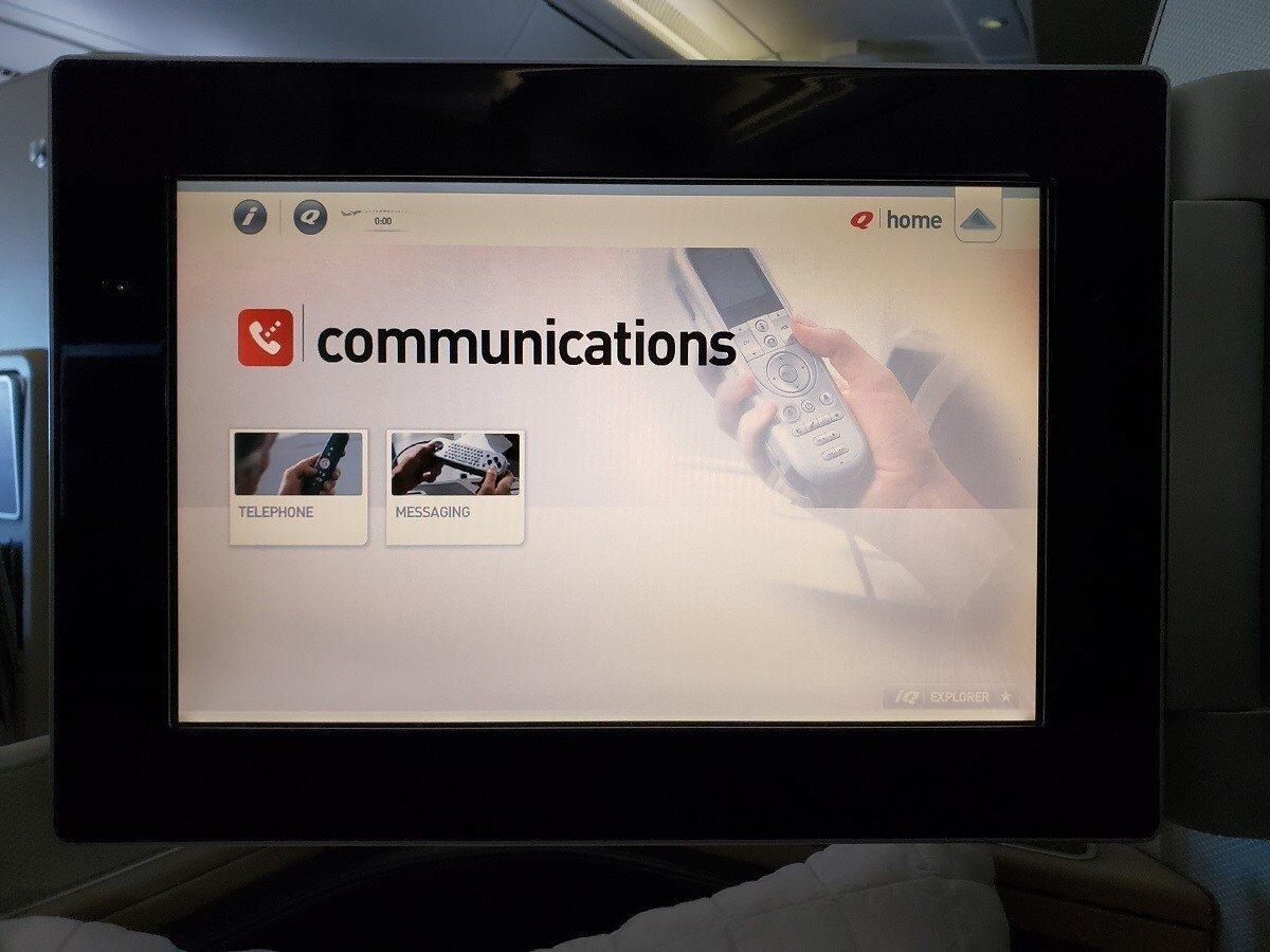 可以使用控制器撥打電話或傳訊息(應該是要收費的)