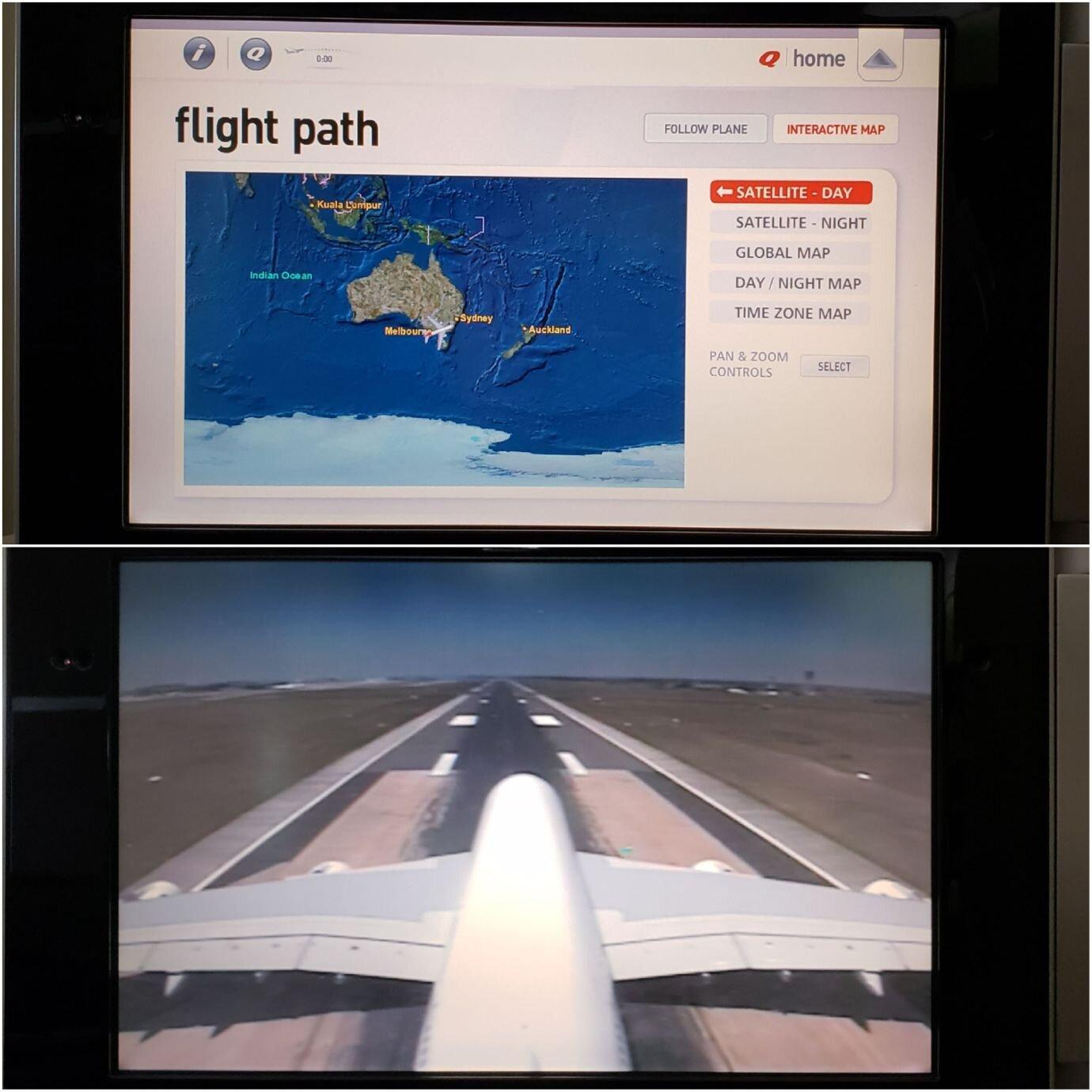 地圖的操作模式(上圖)選項很少,但有機外攝影機(下圖)可以看到機外的景色,只不過畫質頗差