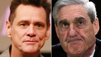 Jim Carrey and Robert Mueller