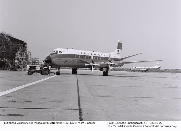 Το αεροσκάφος Vickers V-814 Viscount...
