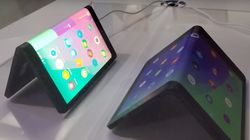 Une tablette électronique qui se plie en