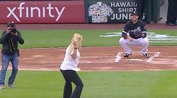 This Could Be The Worst Ceremonial First Pitch
