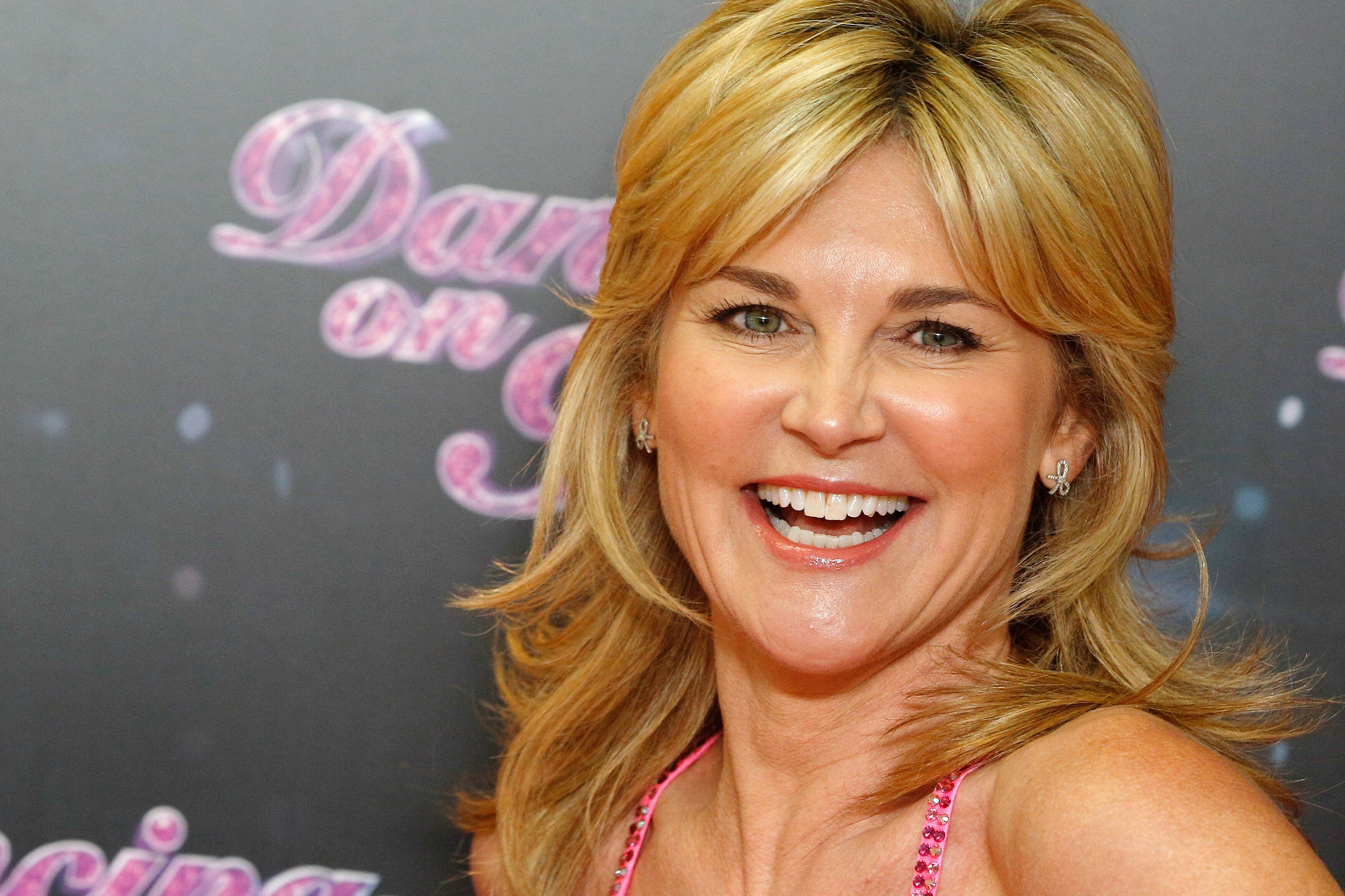 TV presenter Anthea Turner seen at the Dancing on Ice Photocall at at The London Television Centre on Thursday, Jan. 3, 2013, in London. (Photo by Miles Willis/Invision/AP)