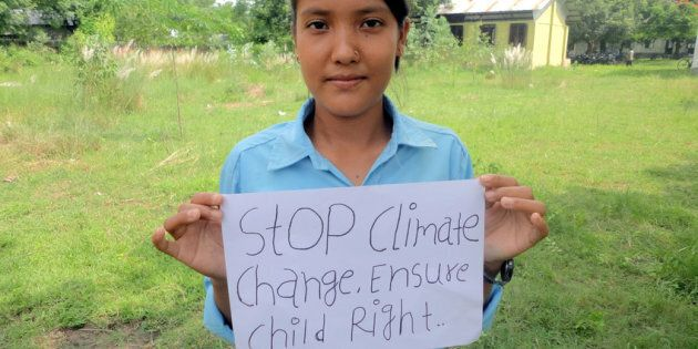 Tirtha, 16, from Nepal participated in consultations with Plan International on the action she wants governments to take to stop climate change.