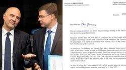 Lettera Ue all'Italia sul debito:
