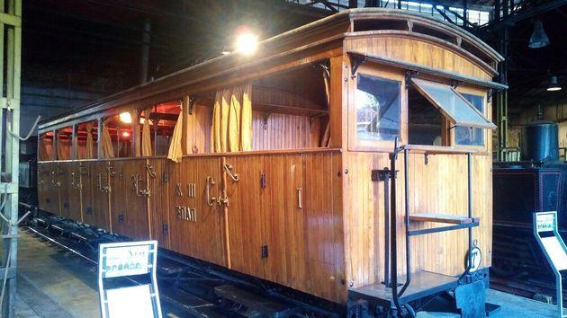 Το νέο Σιδηροδρομικό Μουσείο Αθηνών είναι