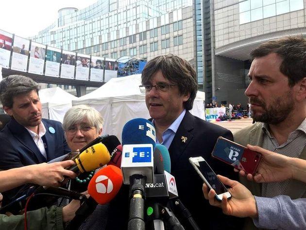 El Parlamento Europeo prohíbe la entrada de Puigdemont y