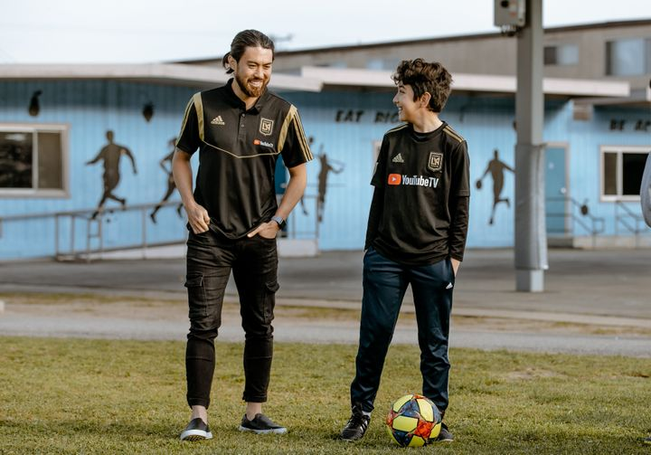 Nguyen puts on soccer camps for kids in the offseason.