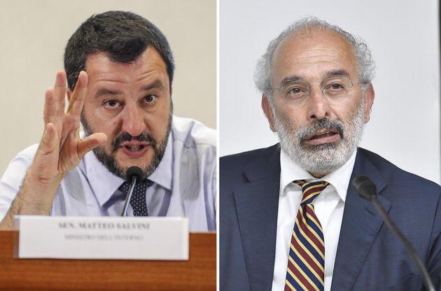 Salvini contro Gad Lerner: