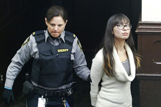 Lindsay Kantha Souvannarath arrives at court in Halifax, Nova Scotia, Canada, March 6,