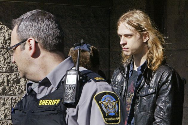 Randall Steven Shepherd leaves court in Halifax, Nova Scotia, Canada, March 6,