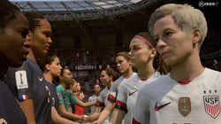 Agora a final da Copa Feminina de Futebol da França está disponível no FIFA