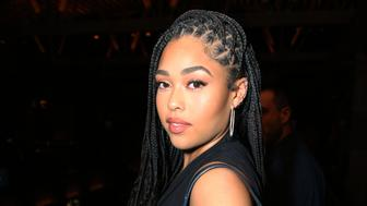 LOS ANGELES, CALIFORNIA - APRIL 09: Jordyn Woods attends Twenty Celebrates It's Official Launch At TAO Los Angeles at TAO on April 09, 2019 in Los Angeles, California. (Photo by Phillip Faraone/Getty Images for Twenty)