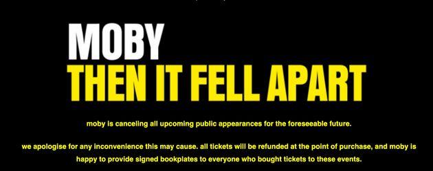 Moby Cancels Public Appearances Amid Natalie Portman