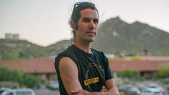 Scott Warren in Ajo, Arizona earlier this year.