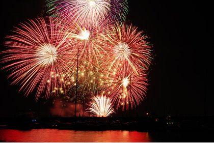 津煙火大會。圖片來源:津市觀光協會官方網站