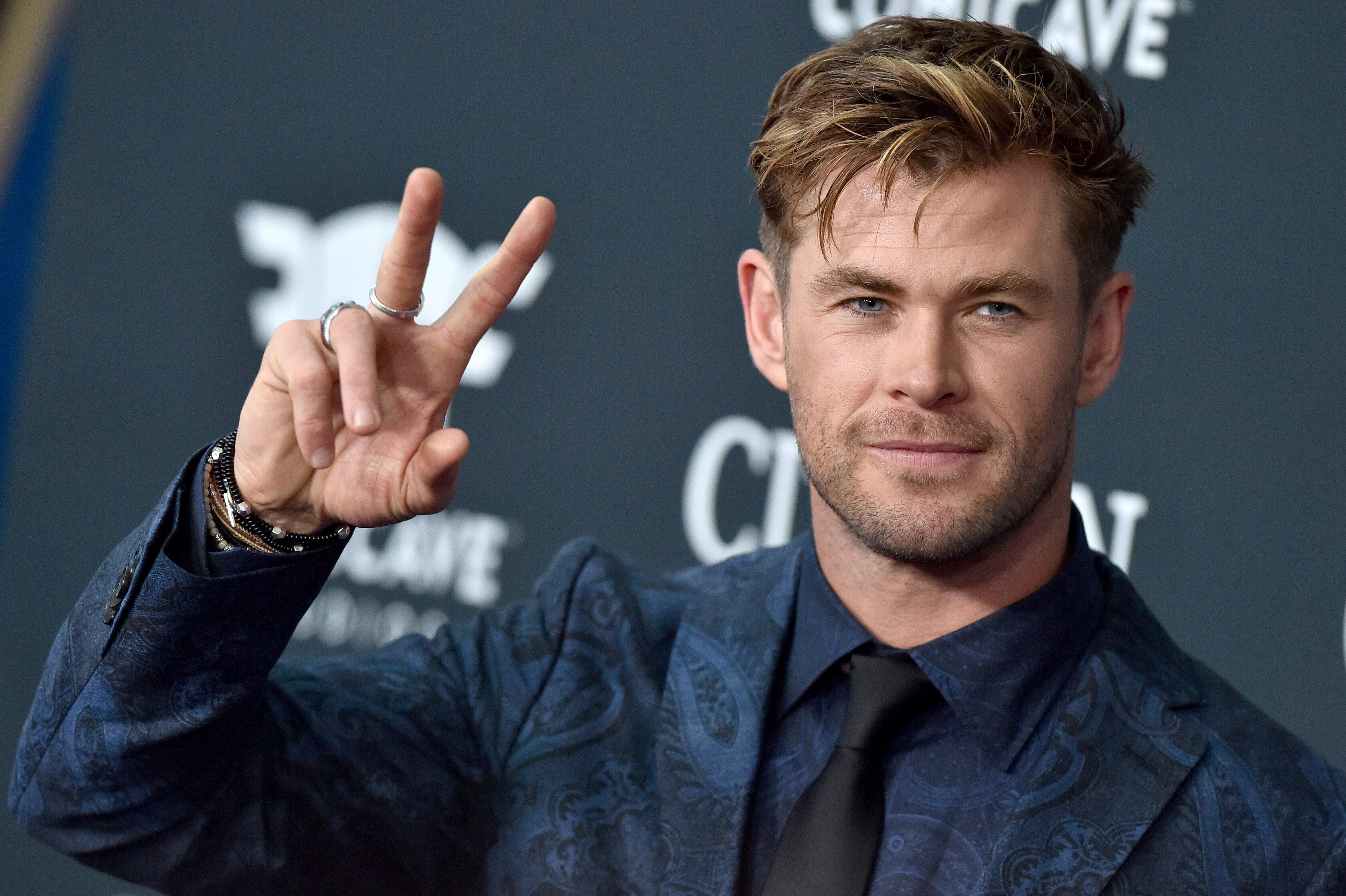 LOS ANGELES, CALIFORNIA - APRIL 22: Chris Hemsworth attends the World Premiere of Walt Disney Studios Motion Pictures 'Avengers: Endgame' at Los Angeles Convention Center on April 22, 2019 in Los Angeles, California. (Photo by Axelle/Bauer-Griffin/FilmMagic)