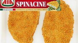 Aia ritira Spinacine e cotolette, possibile presenza di