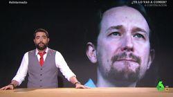 El 'repaso' monumental de Dani Mateo al candidato de Unidas Podemos que mandó callar