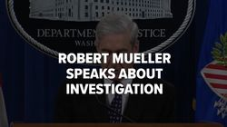 Special Counsel Robert Mueller Delivers Statement On