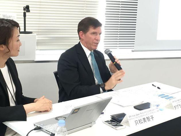 ニューヨークメロン銀行のダグラス・ハイマス日本代表