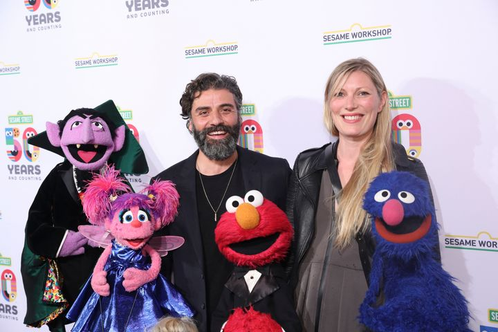 Oscar Issac and Elvira Lind
