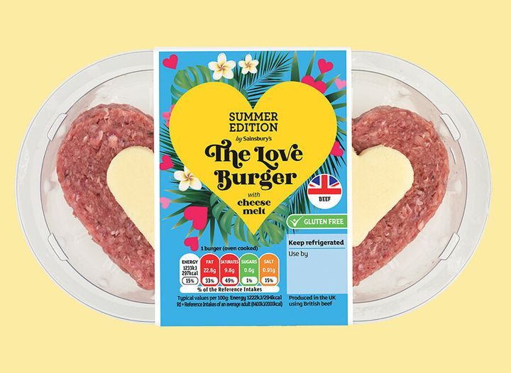 Nothing screams 'I love you' like a slab of raw meat.