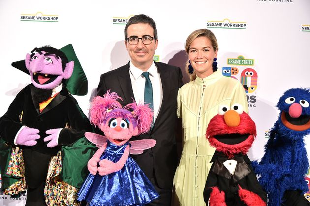 John Oliver and Kate