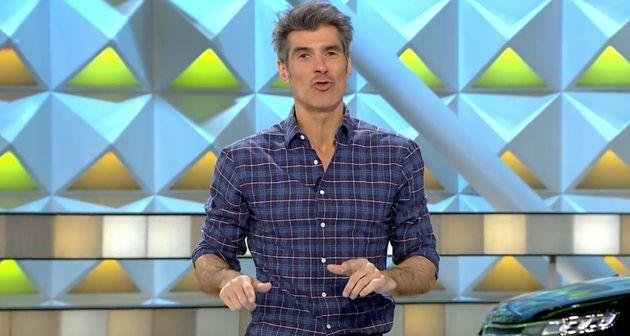 Jorge Fernández desvela en 'La ruleta de la suerte' un embarazoso momento que vivió en una
