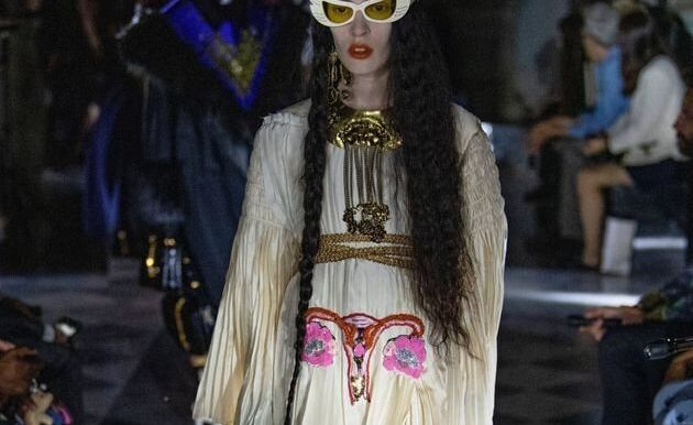 La dernière idée de Gucci? Cet utérus en plein milieu d'une