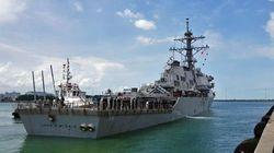 Le nom d'un navire américain dissimulé pour ne pas froisser