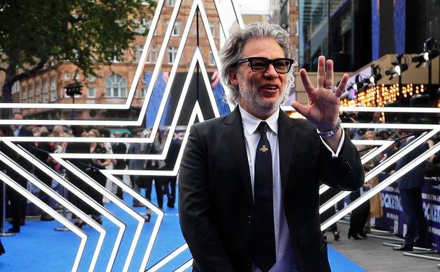 O ator e diretor inglêsDexter Fletcher na premiere de seu novo filme,