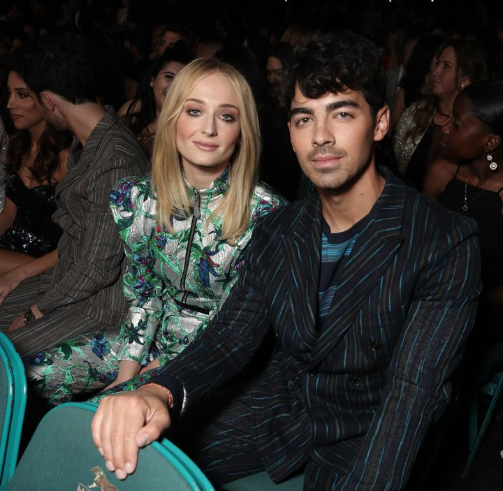 Turner and Jonas attend the 2019 Billboard Music Awards right before their wedding on May 1 in Las Vegas.
