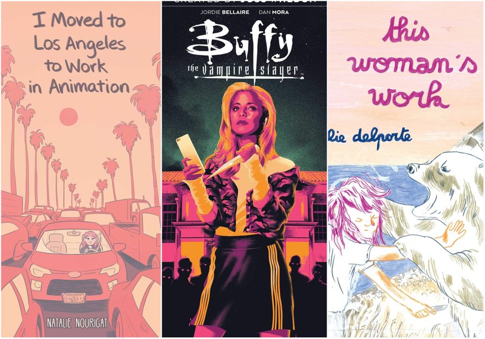 10 Great Graphic Novels Just For The Summer Of