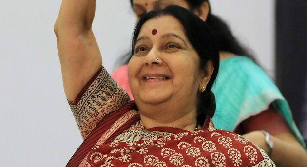 Sushma Swaraj Is Not In Modi's Cabinet And Twitter Is Very