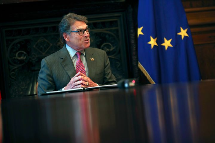 U.S. Energy Secretary Rick Perry suggested such terminology for gas during a signing ceremony for liquefied natural gas expor