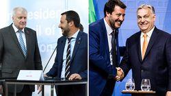 Salvini tradito da Orban e Seehofer.